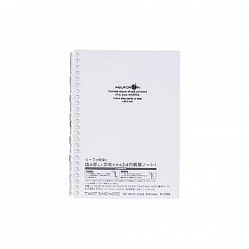 LIHIT LAB Aquadrops Twist Note Notebook - A5 - 30 pagina's - Gelinieerd - Transparant
