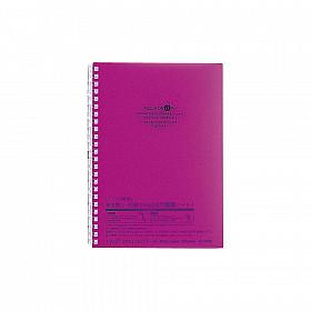 LIHIT LAB Aquadrops Twist Note Notebook - A5 - 30 pagina's - Gelinieerd - Paars