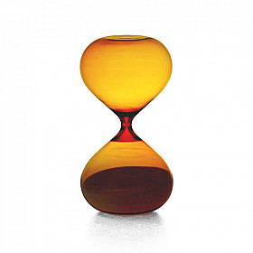 Hightide Hourglass XL Zandloper - Looptijd 30 Minutes - Amber