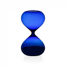 Hightide Hourglass XL Zandloper - Looptijd 30 Minutes - Blauw