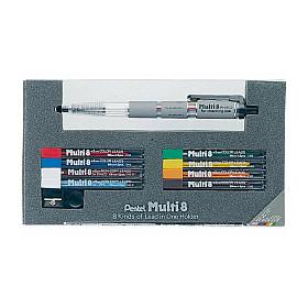 Pentel PH802 Multi 8 Vulpotlood - 2.0 mm - Set met vullingen