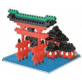 Nanoblock Big Torii Itsukushima Shrine