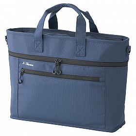 LIHIT LAB ALTNA Stand Business Bag - Blauw