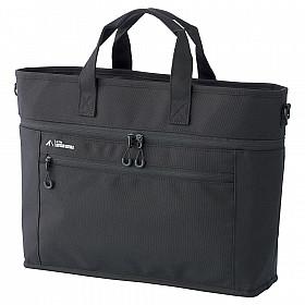 LIHIT LAB ALTNA Stand Business Bag - Zwart