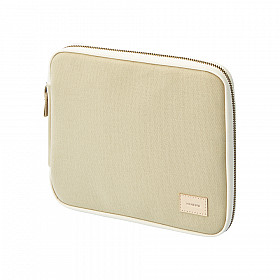 LIHIT LAB HINEMO Stand Pouch - S Size - Beige