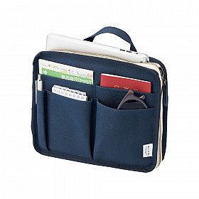 LIHIT LAB HINEMO Stand Pouch - S Size - Blauw