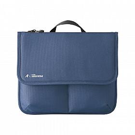 LIHIT LAB ALTNA Flap Pouch - M Size - Blauw