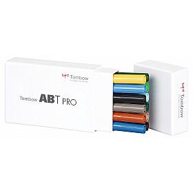 Tombow ABT PRO Alcohol Marker - Landscape Colours - Set van 12