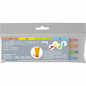Kuretake ZIG Clean Color Dot Double Sided Marker - Set van 4