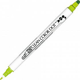 Kuretake ZIG Clean Color Dot Double Sided Marker - 402 Kiwi