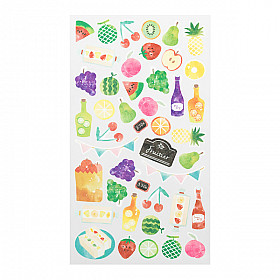 Midori Sticker Marché Collection - Fruits