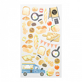 Midori Sticker Marché Collection - Bread