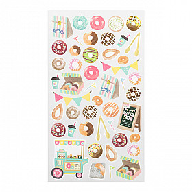 Midori Sticker Marché Collection - Donuts