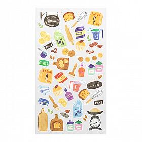 Midori Sticker Marché Collection - Bakery