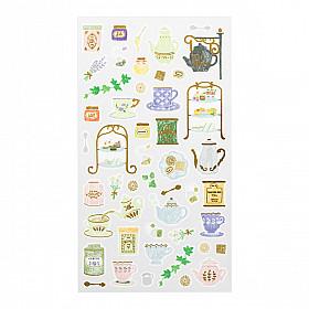 Midori Sticker Marché Collection - Tea