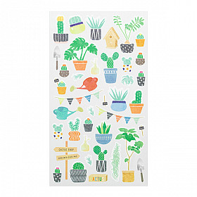 Midori Sticker Marché Collection - Plants
