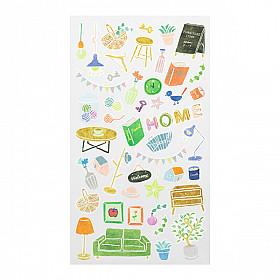 Midori Sticker Marché Collection - Home Interior