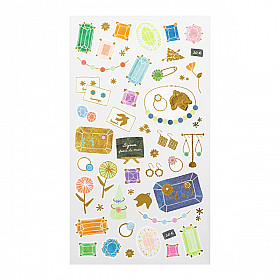 Midori Sticker Marché Collection - Jewellery