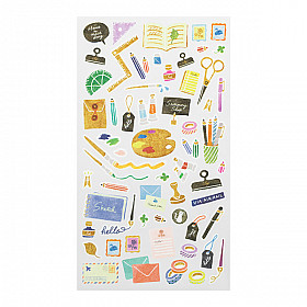 Midori Sticker Marché Collection - Stationery