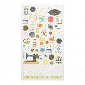Midori Sticker Marché Collection - Sewing