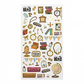 Midori Sticker Marché Collection - Antique