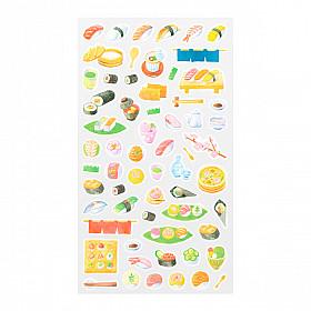 Midori Sticker Marché Collection - Sushi