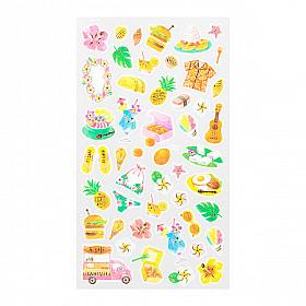 Midori Sticker Marché Collection - Hawaii