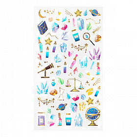 Midori Sticker Marché Collection - Crystals