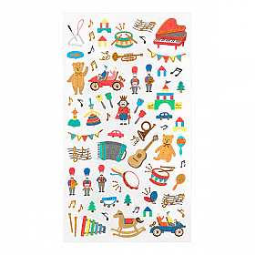 Midori Sticker Marché Collection - Toys