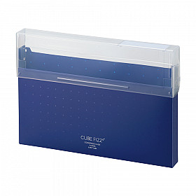 LIHIT LAB Cube Fizz Documentenbox - A4 - Navy