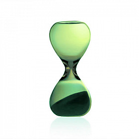 Hightide Hourglass S Zandloper - Looptijd 3 Minuten - Groen