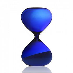 Hightide Hourglass L Zandloper - Looptijd 15 Minuten - Blauw