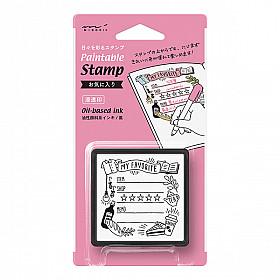 Midori Pre-Inked Stamp - My Favorite