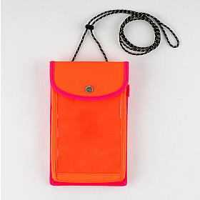 Hobonichi Techo Weeks Case - Mokku (Neon Orange x Neon Pink)