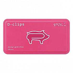 Midori D-Clips - Pig (New)