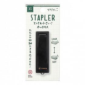 Midori XS Mini Nietmachine - Zwart