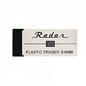 SEED Radar S-60BK Plastic Gum - Klein - Zwart