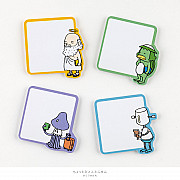 Hobonichi Short Phrase Sticky Notes (Fantastic Friends)