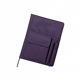LIHIT LAB Smart Fit Cover Notebook - B5 - Blauw