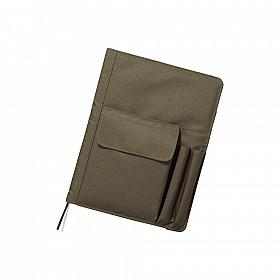 LIHIT LAB Smart Fit Cover Notebook - B5 - Groen