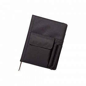 LIHIT LAB Smart Fit Cover Notebook - B5 - Zwart