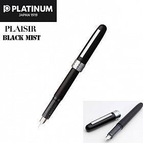 Platinum Plaisir PGB-1000 Vulpen - Black Mist