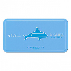 Midori D-Clips - Animal Series - Dolphin