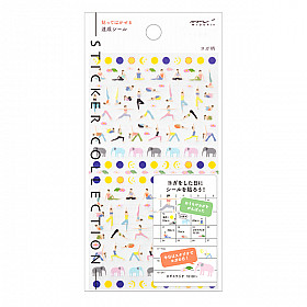 Midori Sticker Collection - Yoga