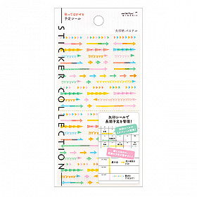 Midori Sticker Collection - Pastel Arrows