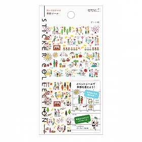 Midori Sticker Collection - Date