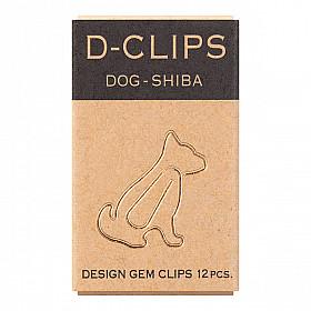 Midori D-Clips Mini - Shiba Dog