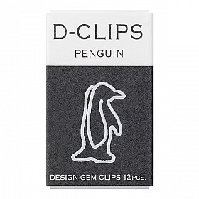 Midori D-Clips Mini - Penguin