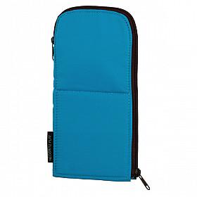 Kokuyo Neo Critz Flat Penetui & Pen Stand - Blauw
