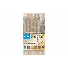 Itoya CL-200 Doubleheader Calligraphy Classics - Set van 6